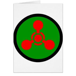 Sarin Gas Symbol Card