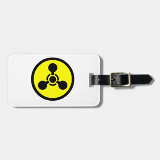 Sarin Gas Symbol Tag For Luggage