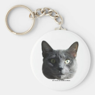 Sarita el gato llavero redondo tipo pin