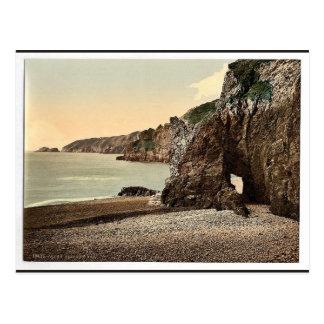Sark, bahía de Dixcart, classi de las Islas del Ca Tarjetas Postales