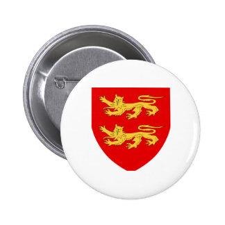 Sark Coat of Arms Pinback Buttons