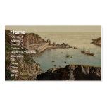 Sark, Creux Harbor, Channel Islands, England class Business Card Template