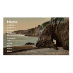 Sark, Dixcart Bay, Channel Islands, England classi Business Cards