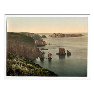 Sark, Les Autelets, clase de las Islas del Canal,  Postal