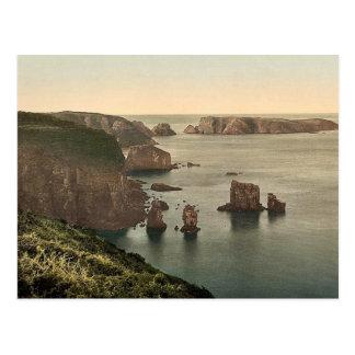 Sark, Les Autelets, clase de las Islas del Canal,  Tarjeta Postal