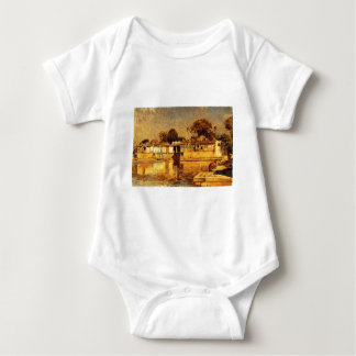 Sarkeh, Ahmedabad, Indi by Edwin Lord Weeks Baby Bodysuit