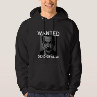 sarko wanted hoodie