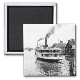 Sarnia Steamboat, 1905 Imán Cuadrado