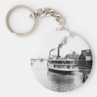 Sarnia Steamboat, 1905 Llavero Redondo Tipo Pin