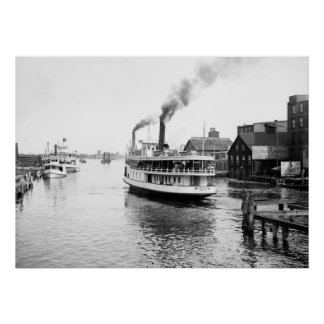 Sarnia Steamboat 1905 Poster
