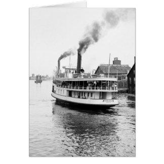Sarnia Steamboat, 1905 Tarjeta De Felicitación