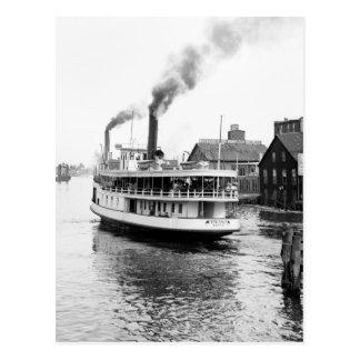 Sarnia Steamboat, 1905 Tarjeta Postal