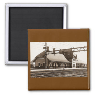 Sarnia Tunnel - Louis Pesha 2 Inch Square Magnet
