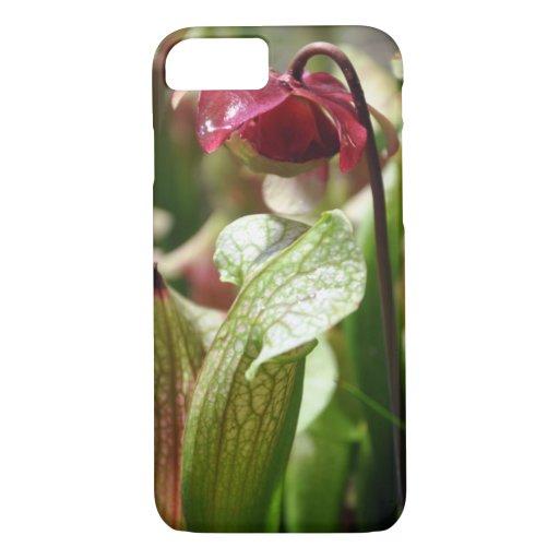 Sarracenia flower iPhone 8/7 case