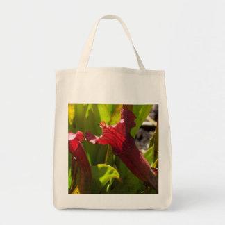 Sarracenia Grocery Tote Bag