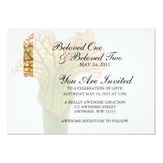 Sarracenia Pitcher Plant Custom Invites
