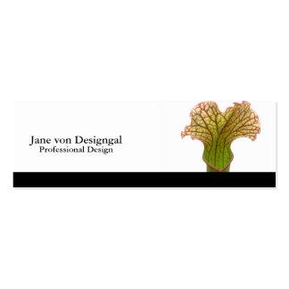 Sarracenia Pitcher Plant Mini Business Card