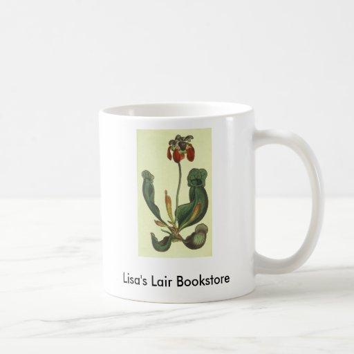 Sarracenia purpurea Bookstore Promo Classic White Coffee Mug