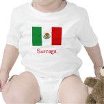 Sarraga Mexican Flag T-shirts
