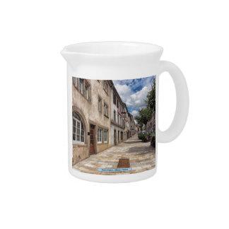 Sarre-Unión, Alsacia, Francia Jarra Para Bebida
