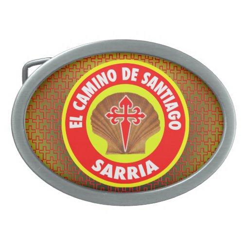 Sarria Oval Belt Buckle