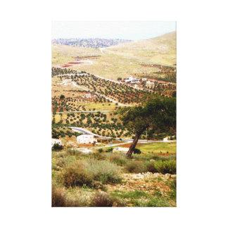 Sarrut, Jordan Canvas Print