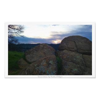 """Sarsen Stones,"" Nature Decor Photo Print"