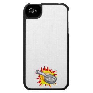 Sartén de Gurl del sartén iPhone 4 Carcasas