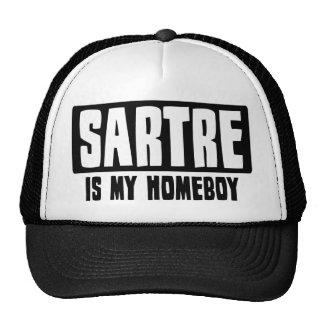 Sartre es mi Homeboy Gorro De Camionero