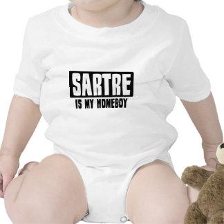 Sartre es mi Homeboy Traje De Bebé