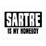 Sartre es mi Homeboy Postales