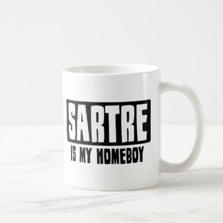 Sartre is my Homeboy Coffee Mug