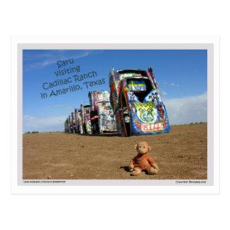 Saru postcard 1