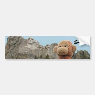 Saru the Monkey bumper sticker