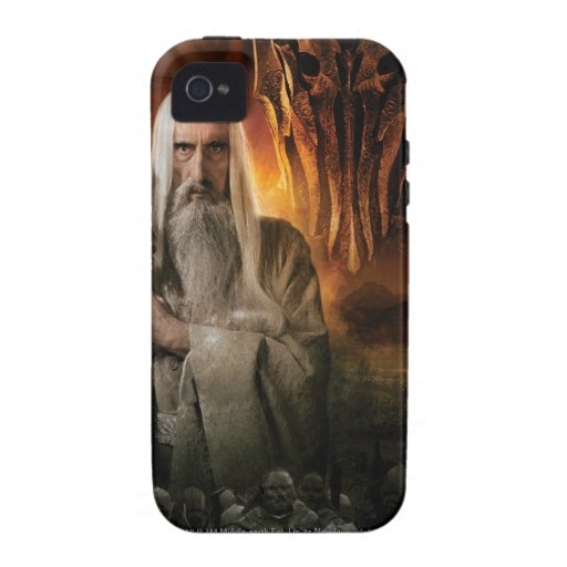 Saruman and Foes Case-Mate iPhone 4 Covers