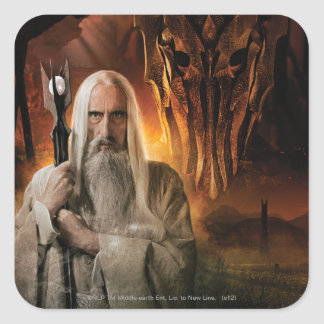 SARUMAN™ and Foes Square Sticker