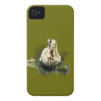 SARUMAN™ Vector Collage iPhone 4 Case-Mate Case