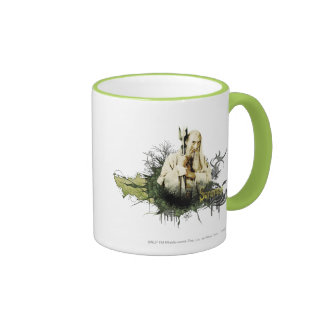 SARUMAN™ Vector Collage Ringer Coffee Mug