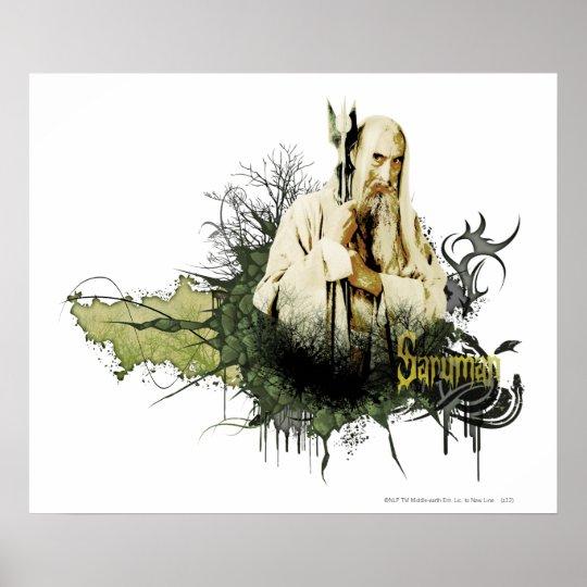 SARUMAN™ Vector Collage Poster