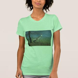 Sarus Cranes, in fog T-shirt