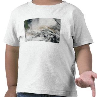 Sarychev Peak blowing across the Sea of Okhotsk Tee Shirt