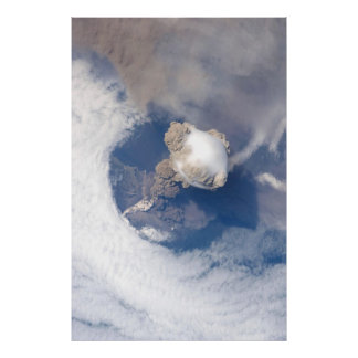 Sarychev Peak Volcano Eruption Original Posters