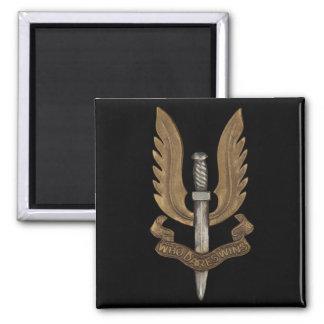 SAS británico Imán Cuadrado