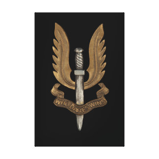 SAS británico Impresion De Lienzo