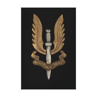 SAS británico Impresión En Lona