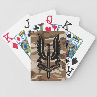 SAS camo Playing Cards