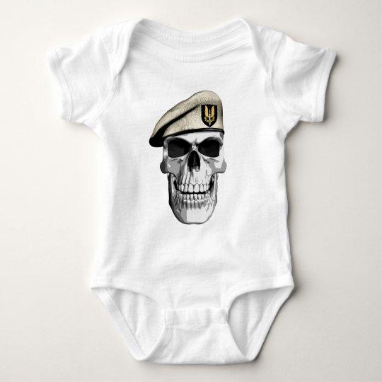 SAS Skull Baby Bodysuit