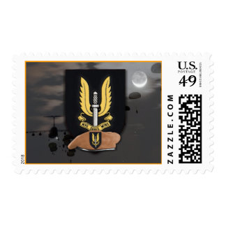 sas special air service veterans  vets Postage sta
