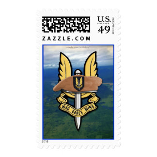 sas special air service war vets Postage stamps