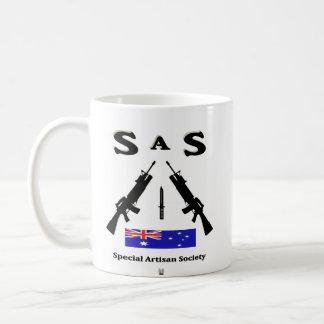 SAS (SPECIAL ARTISAN SOCIETY) AUSSIE COFFEE MUG